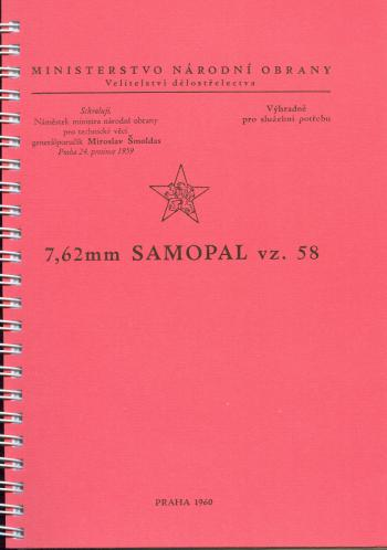Samopal vz. 58-příručka