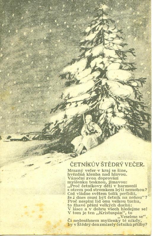 Četnická pohlednice
