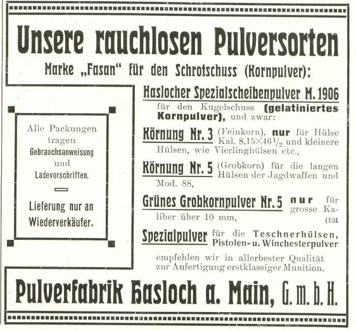 Pulverfabrik Hasloch