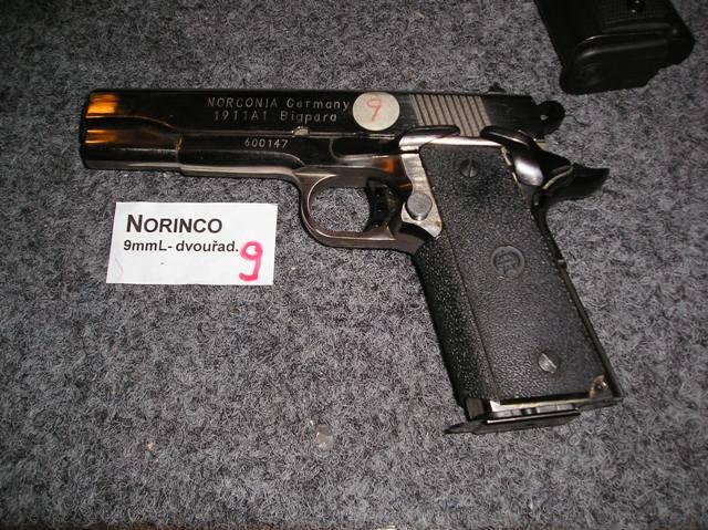 Norinco 9 Luger dvouřadý