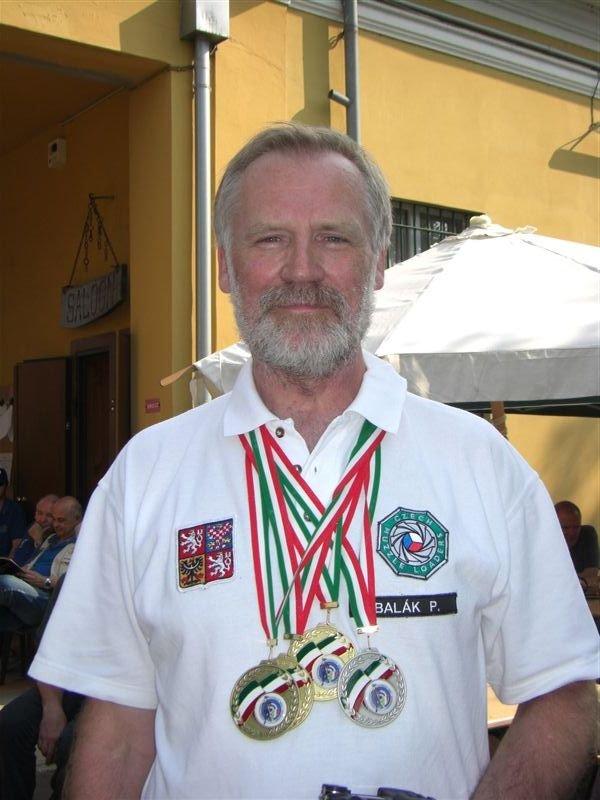 Pavel Balák-sada medailí