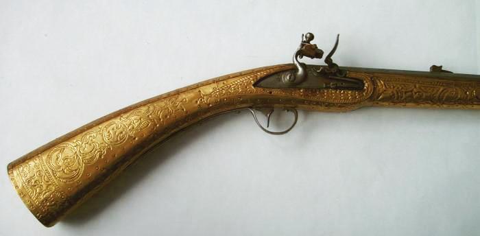 Skrbek-puška-detail