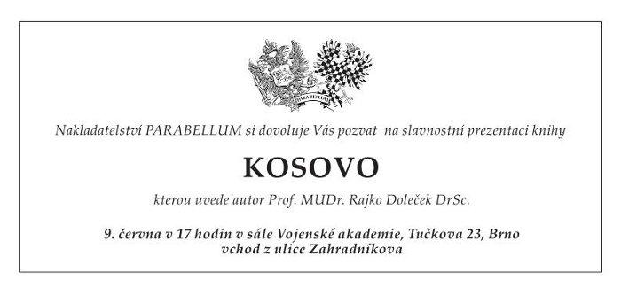 Kniha o Kosovu