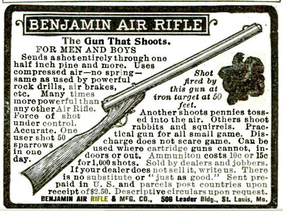 Benjamin air rifle