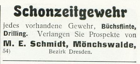 M.E.Schmidt Mönchswalde