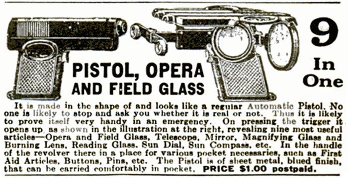 Pistole do opery