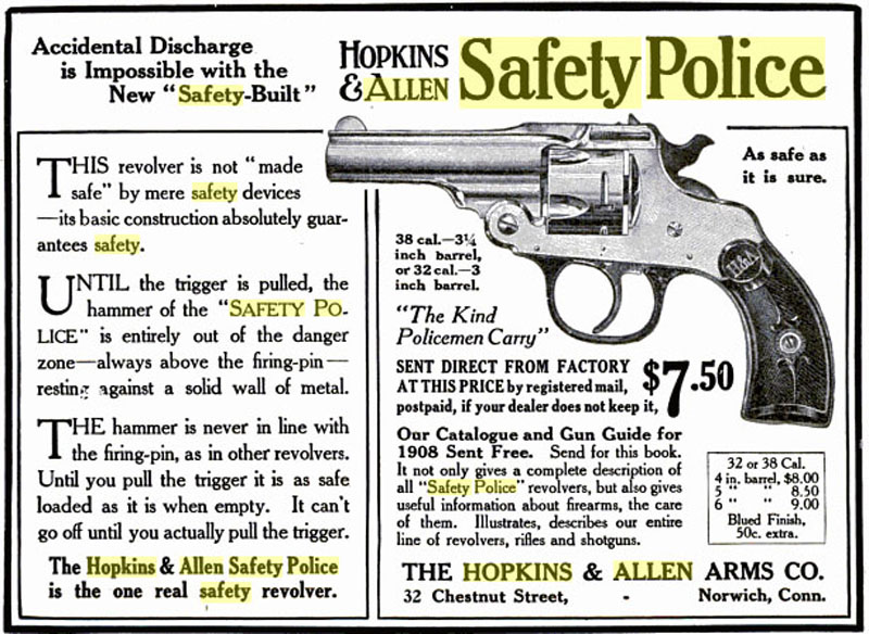 Hopkins Allen Safety Police