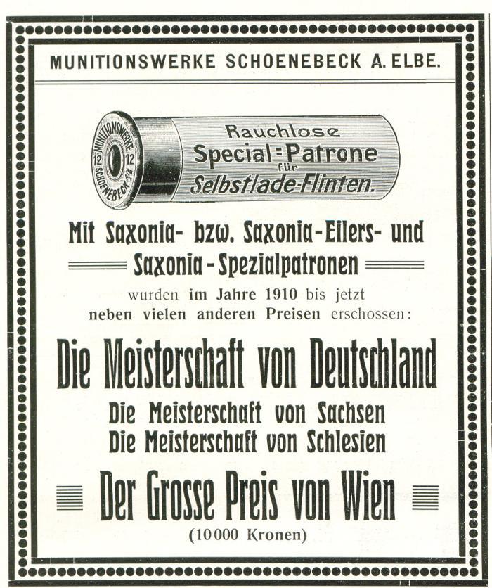 Saxonia Spezialpatronen